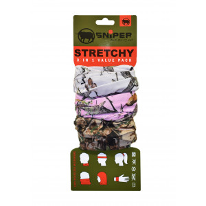 Stretchy Combo (3D,Pink,White)