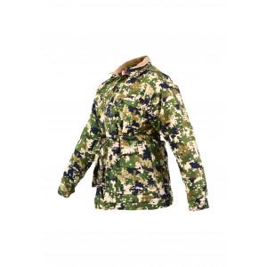 Ladies Padded Parka Jacket - Pixelate