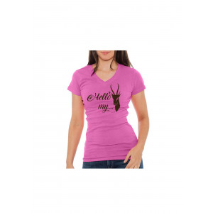 Hello My Bokkie Ladies T Shirt