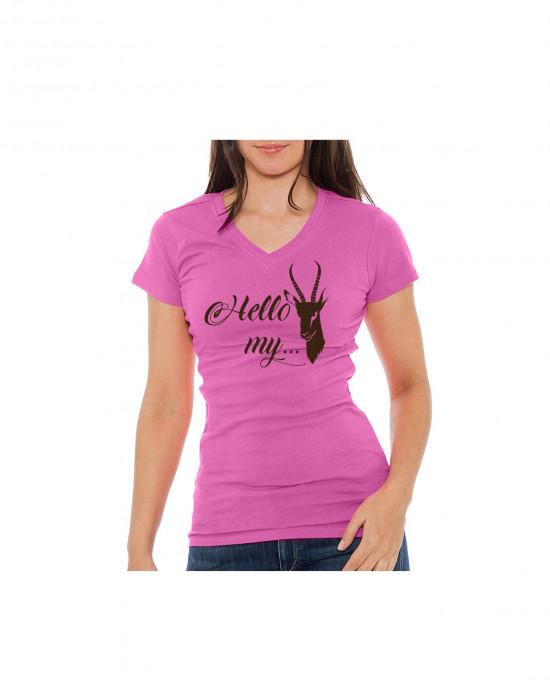 Hello My Bokkie Ladies T Shirt