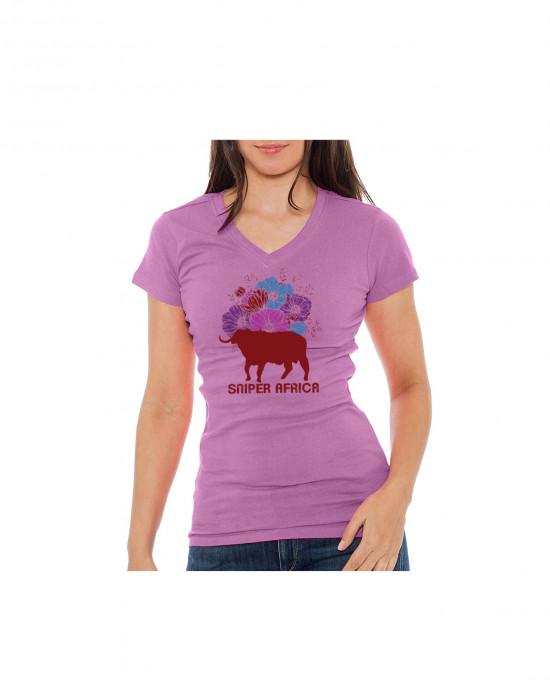 Ladies Floral T Shirt