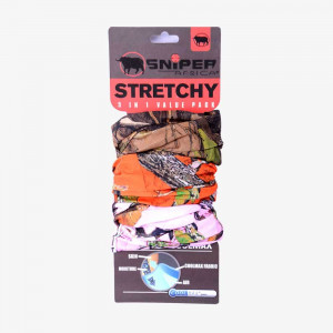 Stretchy Combo (3D,Orange,Pink)