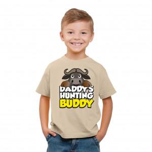T-Shirt - Daddys Hunting Buddy - Khaki