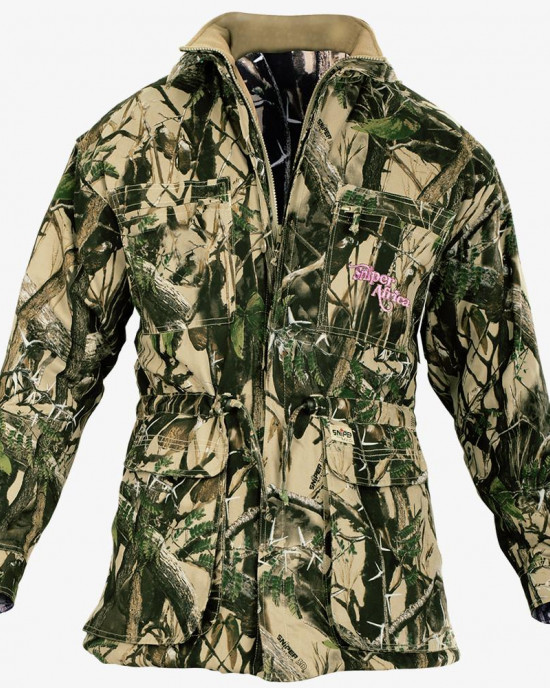 Ladies Parka Jacket - 3D