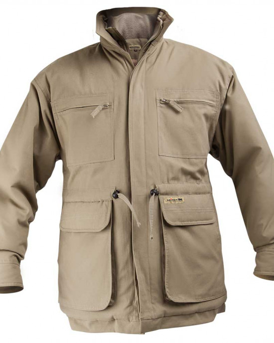 Padded Parka Jacket - Plain Colours