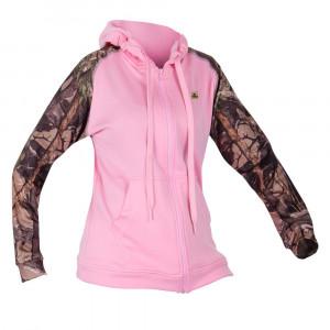 Ladies Active Hoody - 3D/Pink