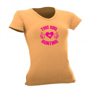 This Girl Loves Hunting T Shirt
