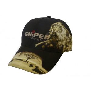 Shooters Peak Cap  Black