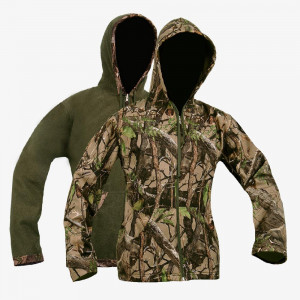 Olive Soft Shell Rev Hoody